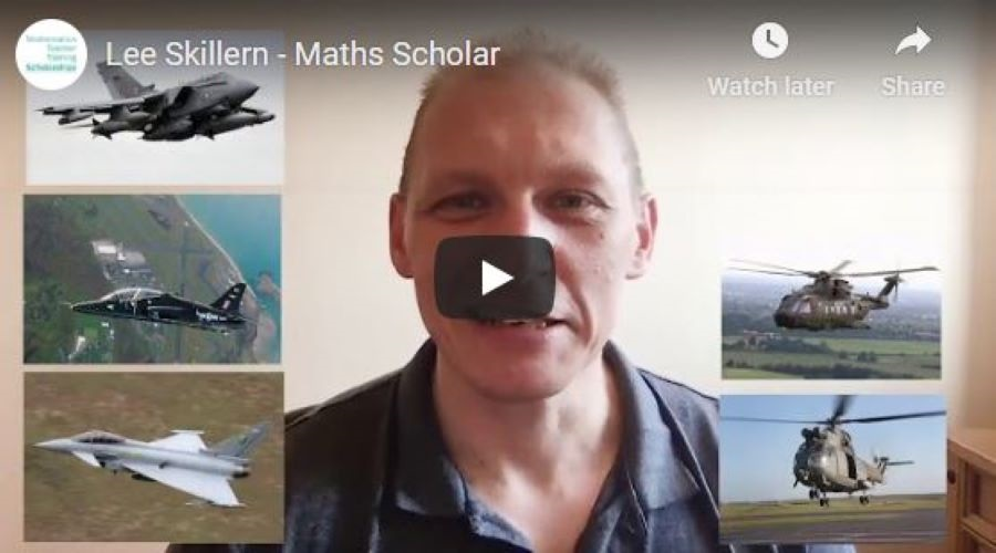Hear all about Lee and his journey to becoming a maths scholar in our latest vlog!