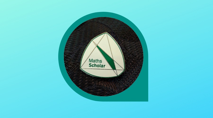 Shapes Of Constant Width – The Hidden Properties Of The New Maths Scholar's Pin Badge.