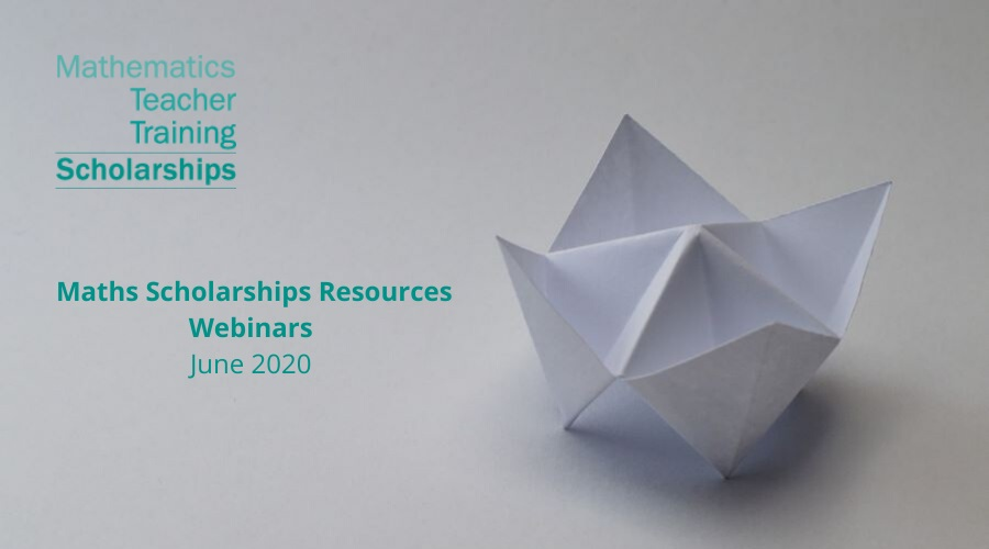 We are delighted to announce 4th Maths Scholarships Resources webinar!