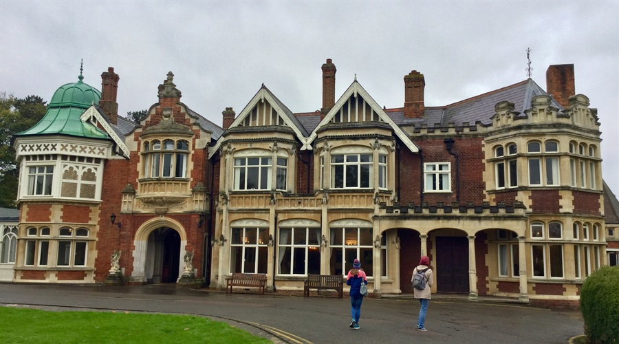 One of the perks of being a Maths Scholar is the events organised throughout the year.  This event, my first, was a visit to Bletchley Park, Britain's main decryption establishment during World War Two.