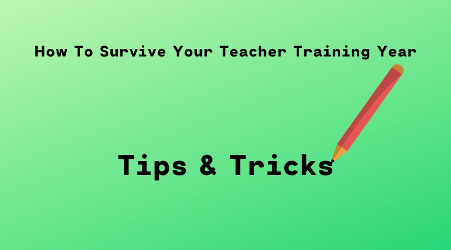 Here are some top tips to help you survive and even thrive in your teacher training year.