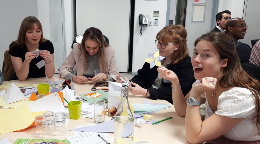 Find out about the 'Exploring Shape and Space' session from the recent Maths Scholars celebratory event.