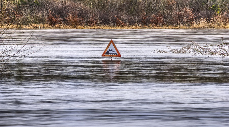 What is a hundred-year flood and how often do they happen?